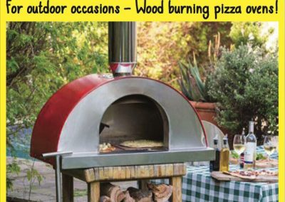 Forno a legno, portable wood fired ovens, Pizza ovens